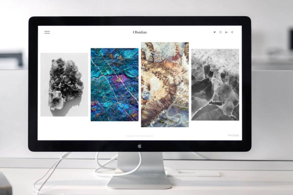 galerie d'art site internet marketing digital