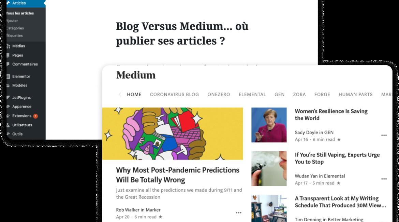 Blog Vs Medium