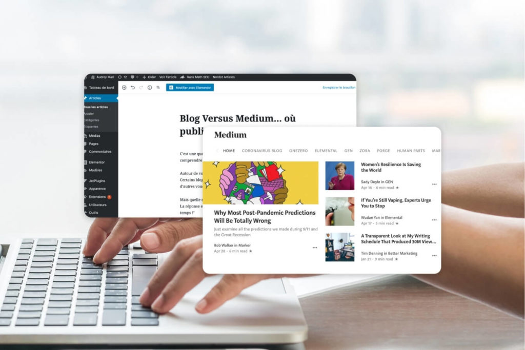 blog versus medium ou publier ses articles