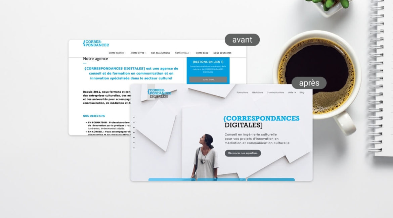 étapes refonte site wordpress
