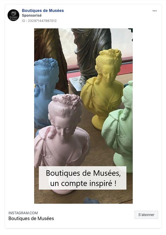 marketing digital boutique de musée