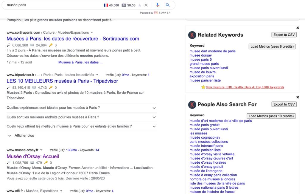 Outil gratuit recherche mot-clé SEO