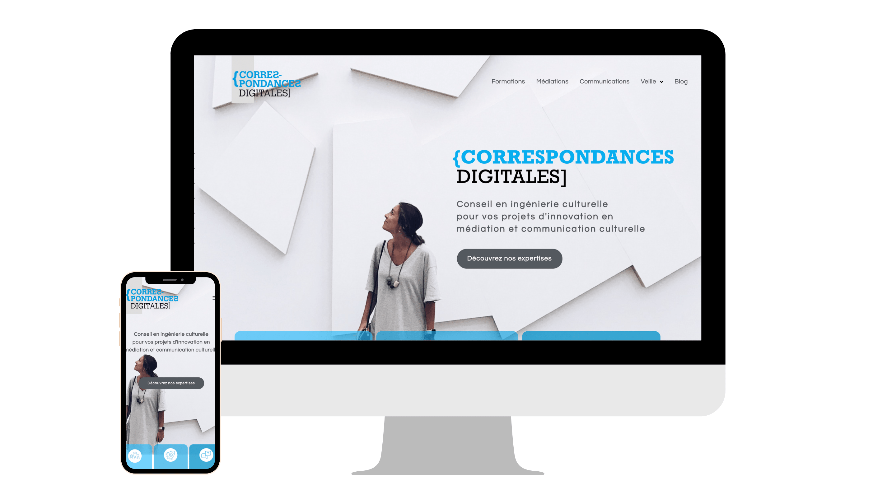 Refonte du site WordPress correspondances.co-min