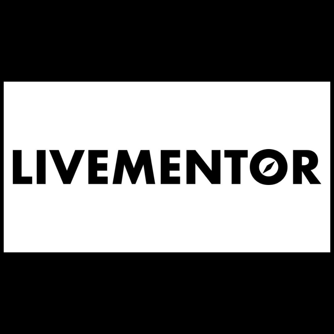 logo livementor - formation marketing digital